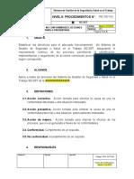 PRC-SST-019 Procedimiento de No Conformidades, Acciones Correctivas o Preventivas.docx