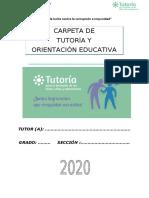 CARPETA DE TUTORIA2020