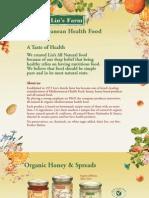 Mediterranean Health Food - Lin's Farm