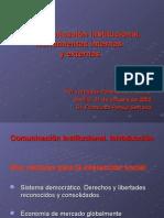 la comunicación institucional - herramientas internas y externas
