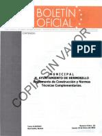 REGLAMENTO DE CONSTRUCCION HERMOSILLO SONORA 2012