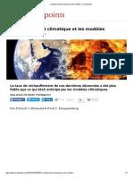 Le Tiédissement Climatique Et Les Modèles _ Contrepoints