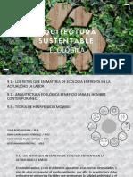 ARQUITECTURA ECOLOGICA