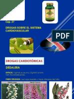 CAP 27 Drogas sobre el sistema cardiovascular