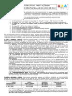 Contrato de Prestacao de Servicos Educacionais Ano de 2011
