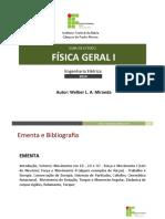 FISICA GERAL 1 - Aulas Completo - Engenharia Elétrica.pdf