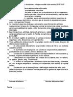 REGLAMENTO DE TALLER AJEDREZ