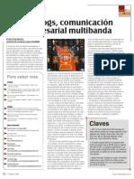 Los blogs, comunicación empresarial multibanda
