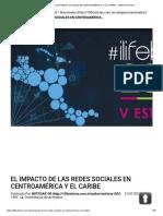 EL IMPACTO DE LAS REDES SOCIALES EN CENTROAMÉRICA Y EL CARIBE – 100% NOTICIAS
