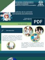 Actividad 10 Indicadores de la comisión permanente de enfermería