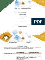 Matriz 4  Unidad 3 fase 3 caracterización del caso 2. Clasificar la información del caso segun teorías. (2)