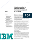 Smarter test and development in Cloud computing for financial services