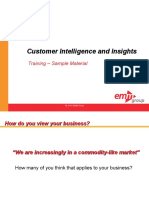 CME 101 Customer Intelligence and Insights Sample Materials Alm