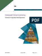 DDCC540C0 Intergraph Smart Licensing Customer FAQ