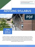 advising syllabus