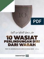 10 Wasiat Perlindungan Diri Dari Wabah