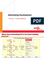 CME 107 Advertising Development Course Sample Materials v1 Ssd 101310