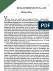 Virtue Ethics and Democratic Values