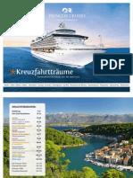Princess Cruises Deutschland - Routenübersicht Januar 2011 bis April 2012