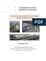 Procedure for Safety Certification and Technical Clearance of Metro Systems (With CS No upto 3).pdf