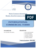 incoterms rapport