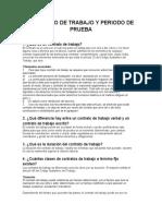 Contrato de Trabajo y Periodo de Prueba doc