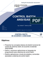 Curso Control Batch ANSI ISA88
