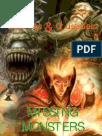 Missing Monsters 1.0