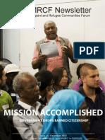 MRCF Newsletter Fall 2010