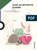 Cada Cual Se Divierte Como Puede PDF
