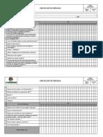 FM-PRO-002 - Check List de Veículo