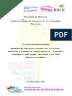 Orientaciones metodológicas para Encuentro de crecimiento personal con D.._