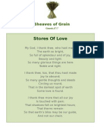 Stores Of Love - Sheaves of Grain - 59