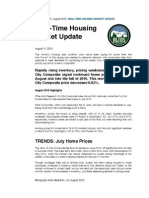 Altos Research Real-Time Housing Report - August 2010