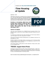 Altos Research Real-Time Housing Report - Sept 2010