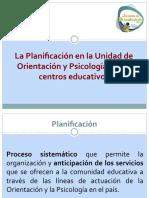 PASOS PARA LA PLANIFICACION DE ORIENTACION
