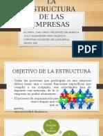 La Estructura de Las Empresas