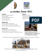 Folleto Salvavidas Junior 2011