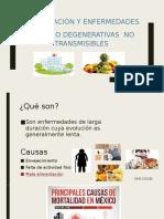 Alimentación y Enfermedades crónico Degenerativas no transmisibles