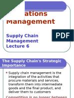 OML6 - Supply Chain Management