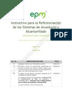 Instructivo para la Referenciación de los Sistemas de Acueducto y Alcantarillado