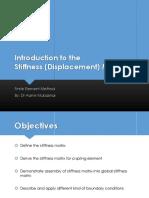 ME458 FEM - L2 - Intro to Stiffness Method V1