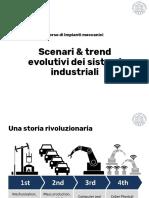 M1 - 01 - Scenari a trend evolutivi dei sistemi industriali