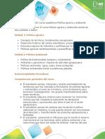 Descripción del curso Política agraria y ambiental.docx