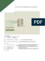 5 Program Penekanan Saklar Dan Animasi LED Konfigurasi Common Anoda