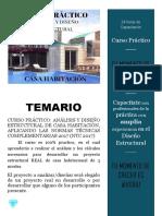 TEMARIO CASA HABITACION
