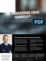 Onboarding Email Template