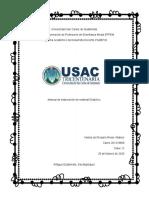 Elaboración de material didactico
