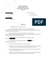 Legal-Writing-COMPLAINT-ANSWERS