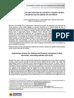 Serviços de engenharia para empresas de vestuário e calçados de Belo Horizonte